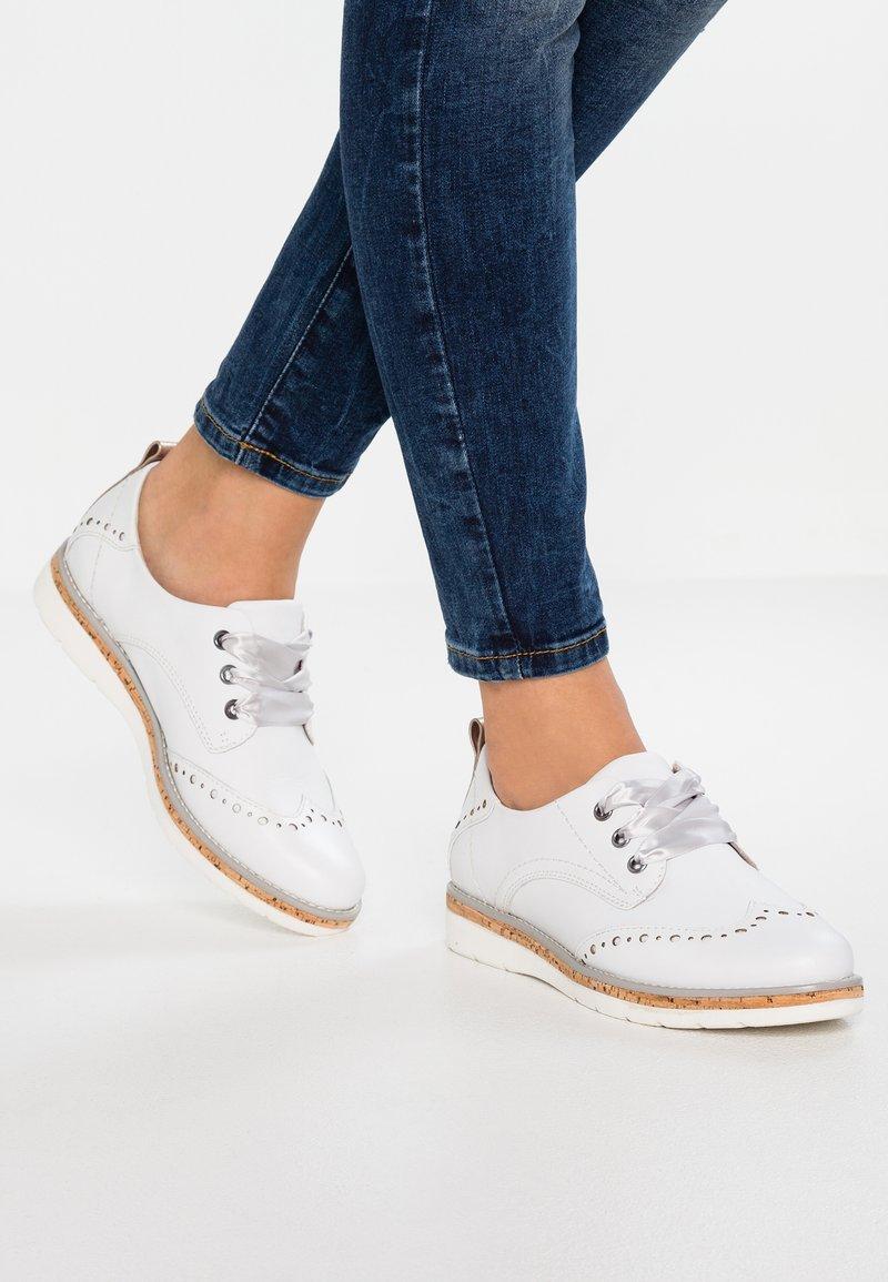 Jana - Lace-ups - white