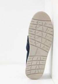 Jana - Ankle strap ballet pumps - navy - 6