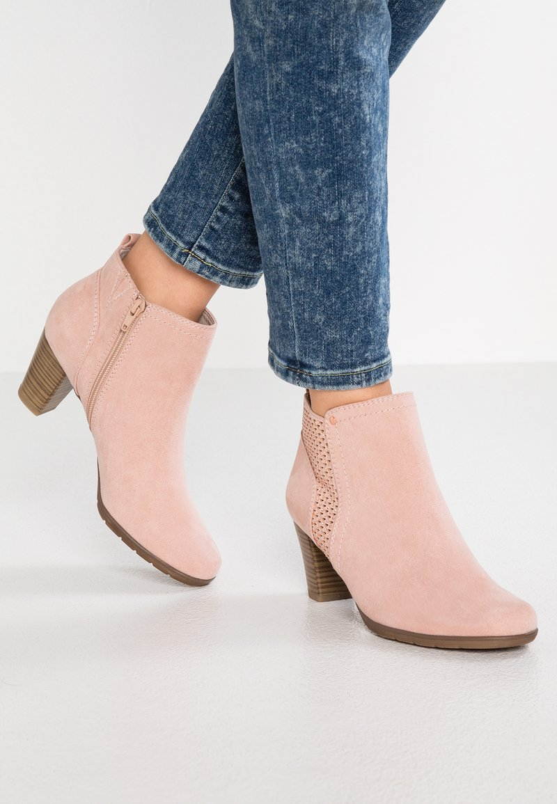 Jana - Ankle boots - rose