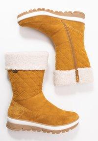 Jana - Winter boots - saffron - 3