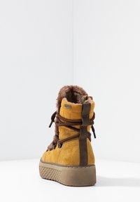 Jana - Vinterstøvler - saffron - 5