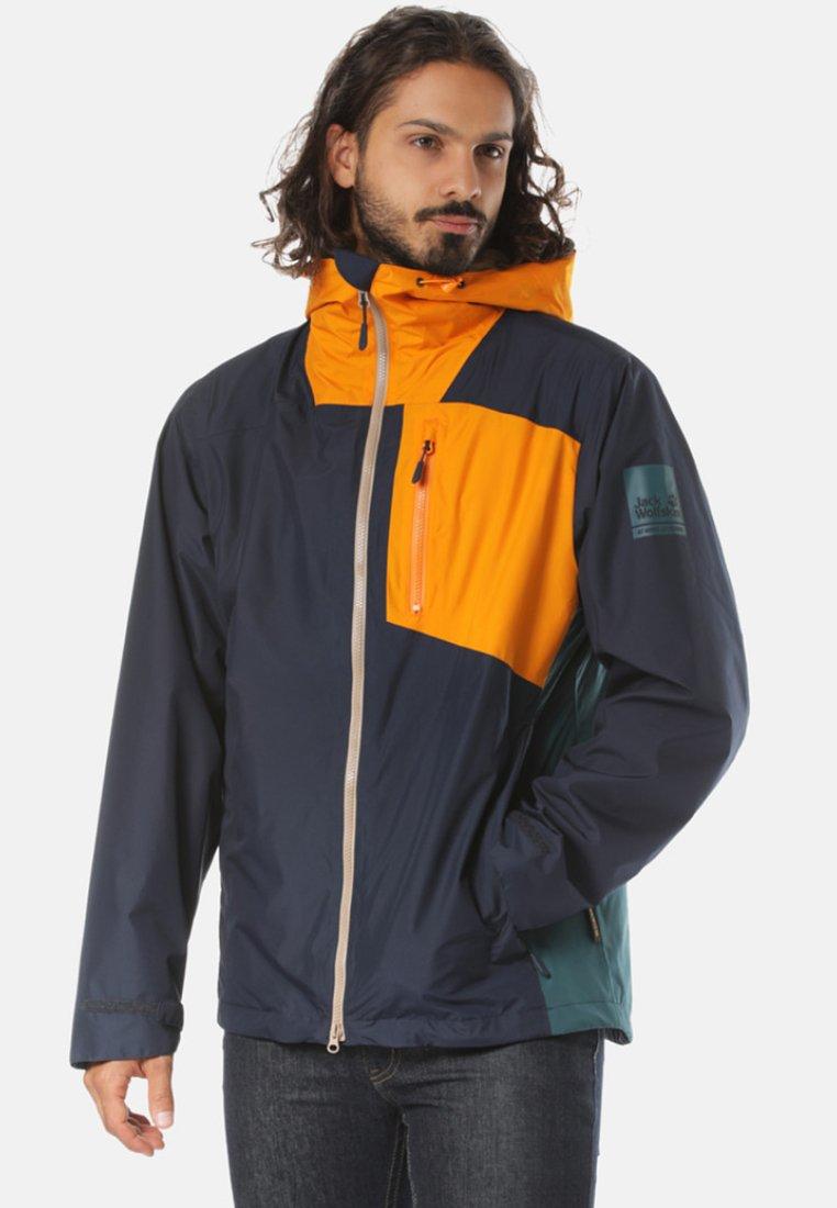 Jack Wolfskin - 3IN1 FUNKTIONSJACKE - Waterproof jacket - green