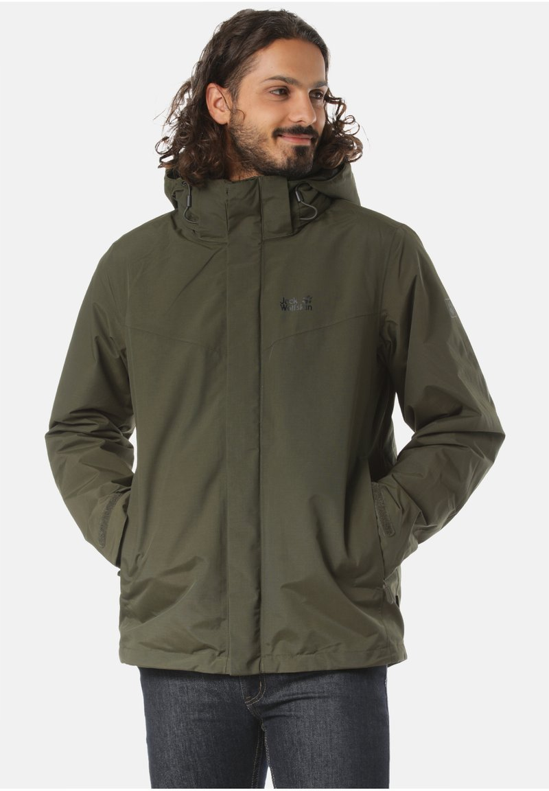Jack Wolfskin - Winter jacket - green