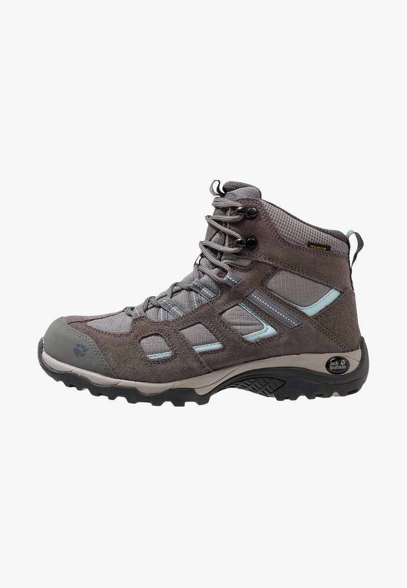 Jack Wolfskin - VOJO HIKE 2 TEXAPORE MID - Hiking shoes - tarmac grey