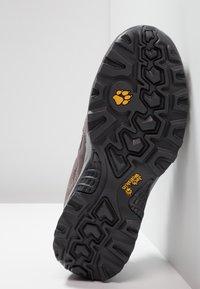 Jack Wolfskin - VOJO HIKE 2 TEXAPORE LOW - Hiking shoes - tarmac grey - 4