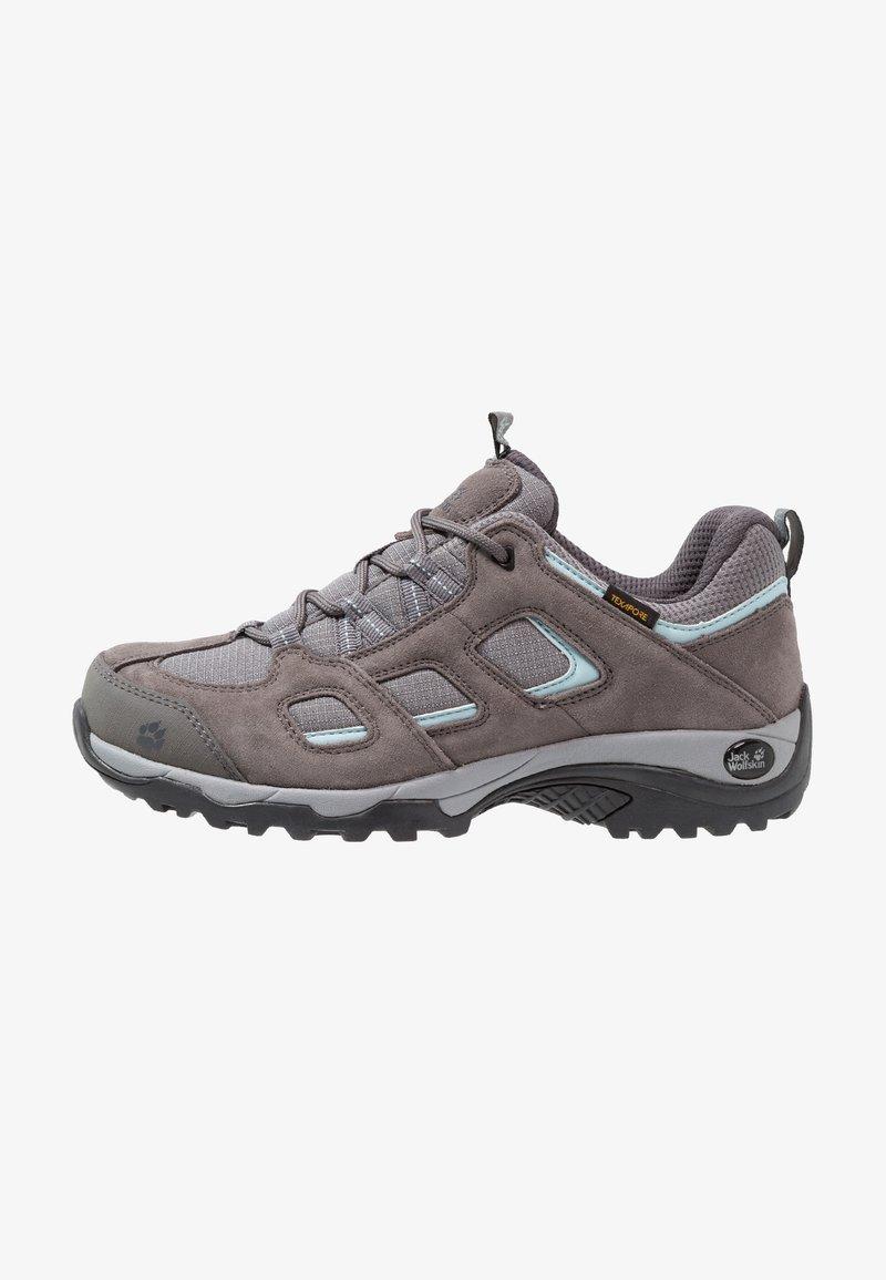 Jack Wolfskin - VOJO HIKE 2 TEXAPORE LOW - Hiking shoes - tarmac grey
