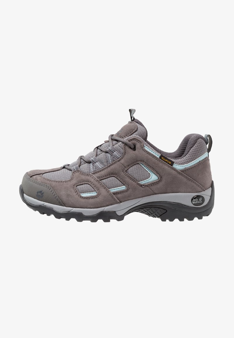 Jack Wolfskin - VOJO HIKE 2 TEXAPORE LOW - Hiking shoes - tarmac grey