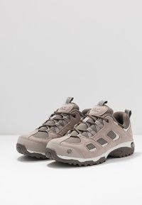 Jack Wolfskin - VOJO HIKE 2 TEXAPORE LOW - Hiking shoes - siltstone - 2