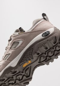 Jack Wolfskin - VOJO HIKE 2 TEXAPORE LOW - Hiking shoes - siltstone