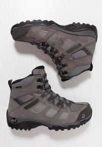 Jack Wolfskin - VOJO 2 WT TEXAPORE MID - Hikingschuh - tarmac grey/dark steel - 1