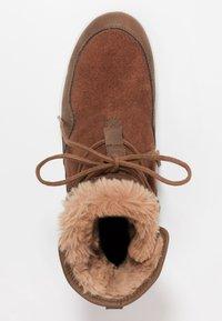 Jack Wolfskin - AUCKLAND TEXAPORE BOOT - Snowboot/Winterstiefel - desert brown/white - 1