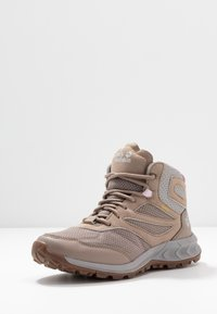 Jack Wolfskin - WOODLAND TEXAPORE MID - Hiking shoes - clay/light grey - 3
