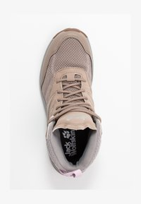 Jack Wolfskin - WOODLAND TEXAPORE MID - Hiking shoes - clay/light grey - 1