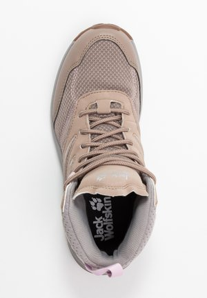 WOODLAND TEXAPORE MID - Obuwie hikingowe - clay/light grey