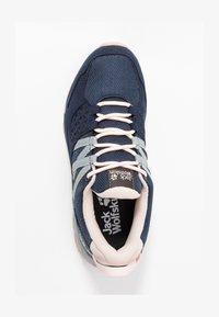 Jack Wolfskin - CASCADE HIKE TEXAPORE LOW - Hiking shoes - dark blue/pink - 1