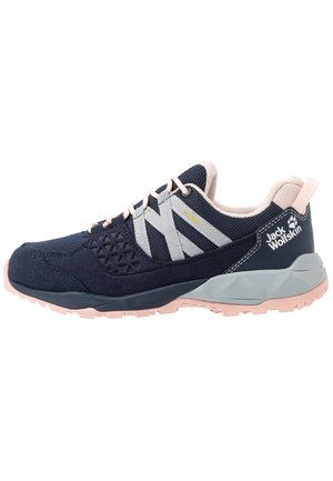 CASCADE HIKE TEXAPORE LOW - Hikingschuh - dark blue/pink