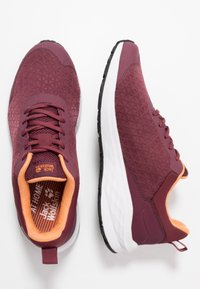 Jack Wolfskin - COOGEE LITE LOW - Trainers - burgundy/apricot - 1