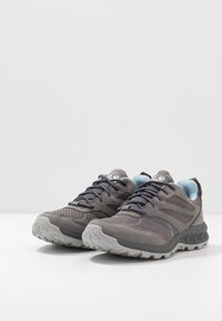 Jack Wolfskin - WOODLAND TEXAPORE LOW - Obuwie hikingowe - grey/light blue - 2
