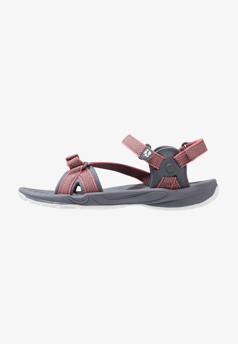 Jack Wolfskin - LAKEWOOD RIDE - Walking sandals - rose quartz