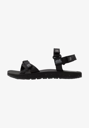 OUTFRESH - Sandalias de senderismo - black/light grey