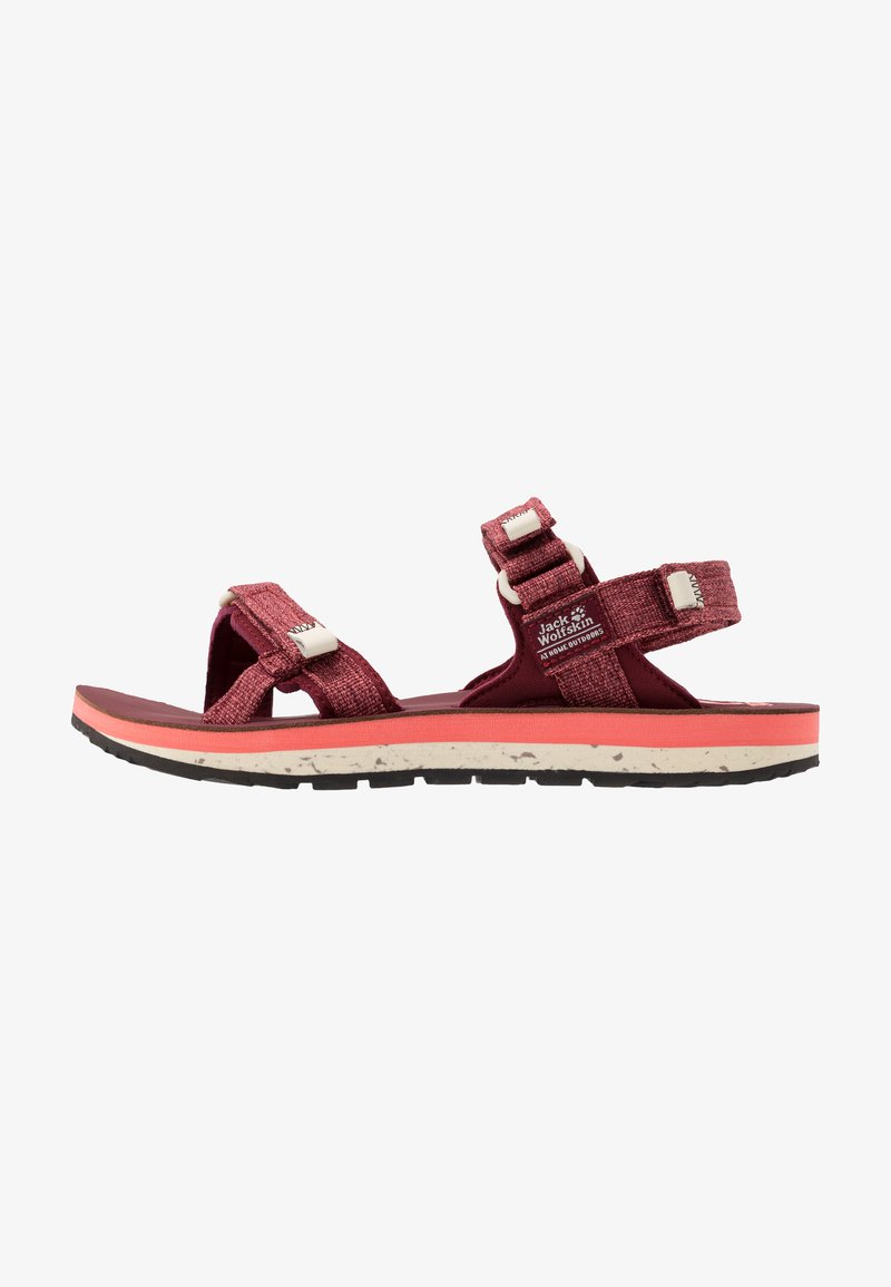 Jack Wolfskin - OUTFRESH DELUXE - Outdoorsandalen - carbernet/champagne
