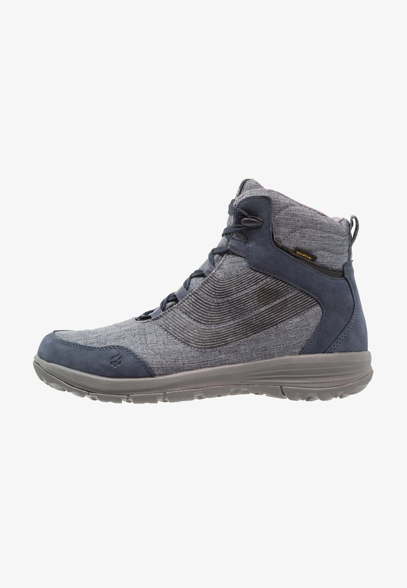 Jack Wolfskin - SEVEN WONDERS TEXAPORE MID - Hiking shoes - night blue