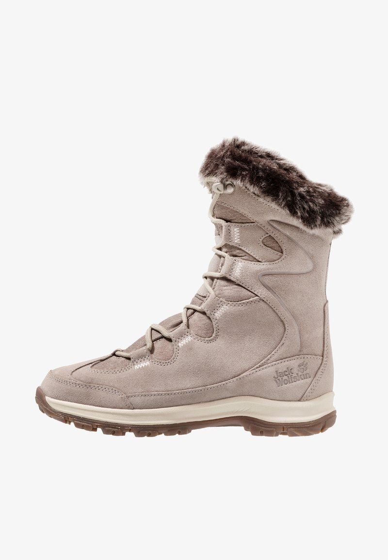 Jack Wolfskin - GLACIER BAY TEXAPORE HIGH - Winter boots - light grey/champagne