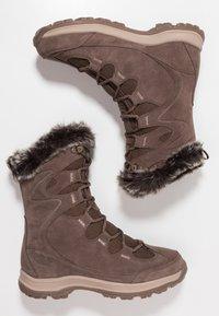 Jack Wolfskin - GLACIER BAY TEXAPORE HIGH - Stivali da neve  - mocca/beige - 1