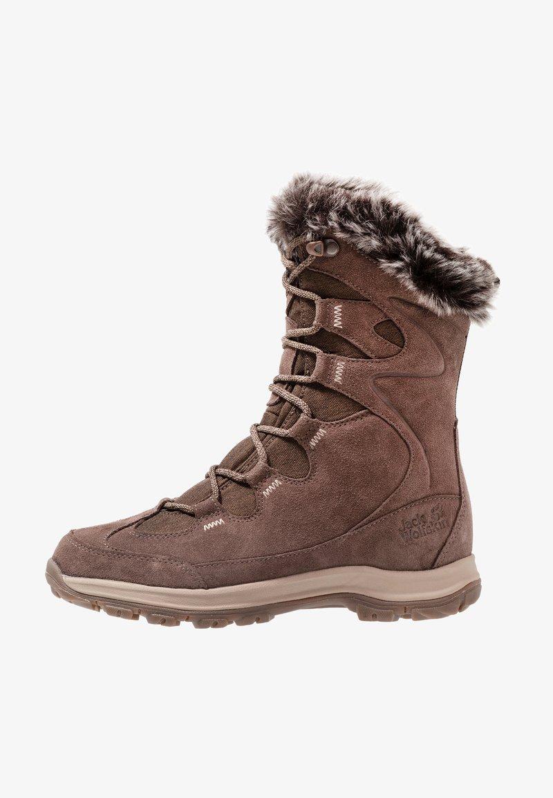 Jack Wolfskin - GLACIER BAY TEXAPORE HIGH - Winter boots - mocca/beige