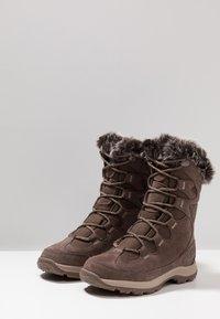 Jack Wolfskin - GLACIER BAY TEXAPORE HIGH - Stivali da neve  - mocca/beige - 2
