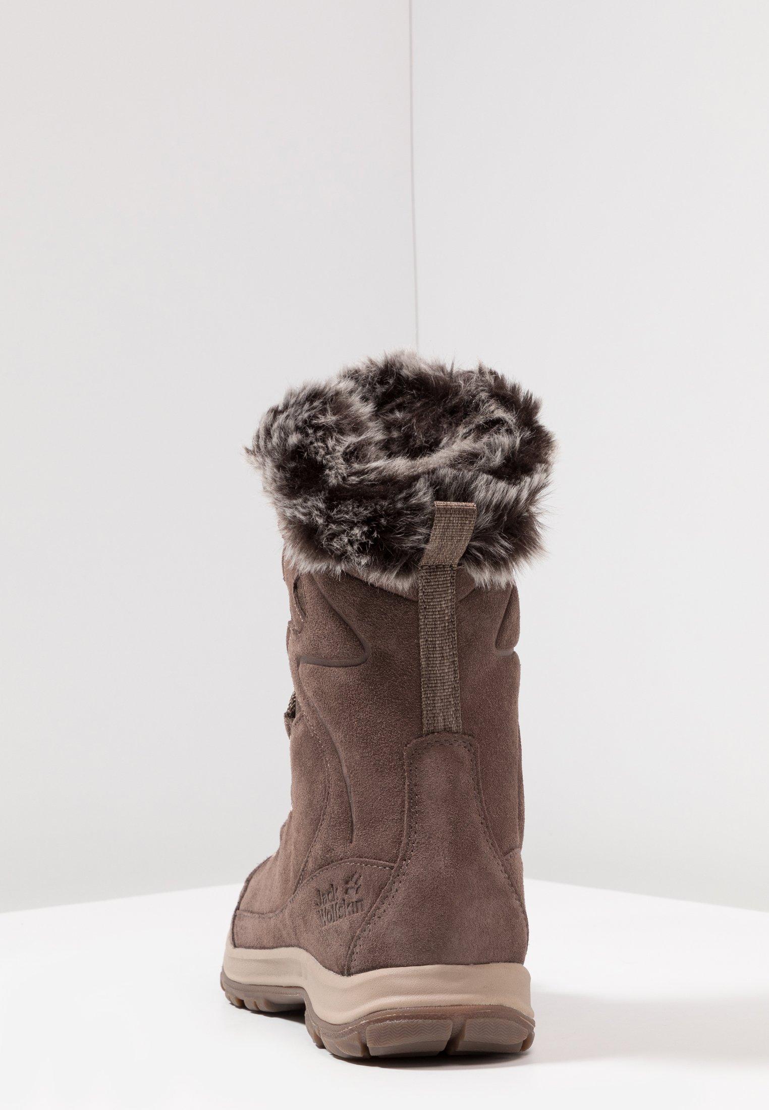 GLACIER BAY TEXAPORE HIGH SnowbootWinterstiefel moccabeige