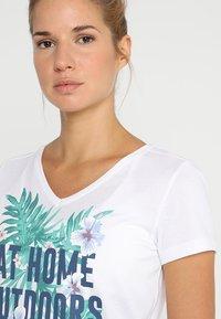 Jack Wolfskin - AT HOME - T-shirts print - white rush - 4