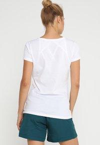 Jack Wolfskin - AT HOME - T-shirts print - white rush - 2