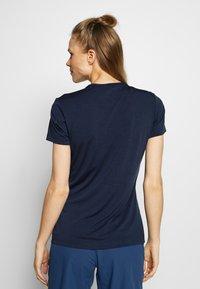 Jack Wolfskin - CROSSTRAIL WOMEN - T-Shirt basic - midnight blue - 2