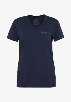 CROSSTRAIL WOMEN - Basic T-shirt - midnight blue