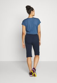 Jack Wolfskin - ACTIVATE LIGHT 3/4 PANTS - 3/4 sports trousers - midnight blue - 2