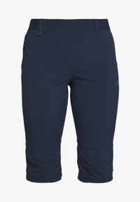 Jack Wolfskin - ACTIVATE LIGHT 3/4 PANTS - 3/4 sports trousers - midnight blue - 3