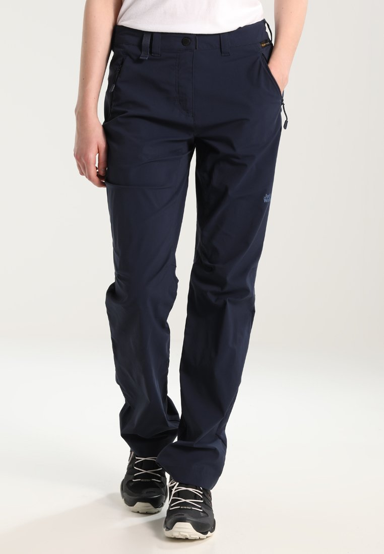 Jack Wolfskin - ACTIVATE LIGHT PANTS WOMEN - Stoffhose - midnight blue