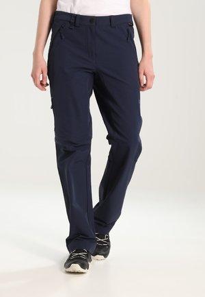 ACTIVATE WOMEN - Długie spodnie trekkingowe - midnight blue