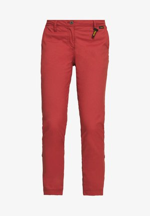 DESERT ROLL UP PANTS - Outdoor trousers - auburn