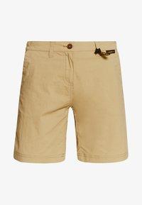 Jack Wolfskin - DESERT SHORTS  - Sports shorts - sand dune - 4