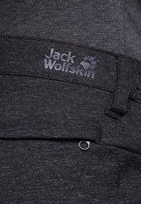Jack Wolfskin - WINTER TRAVEL PANTS WOMEN - Pantalones montañeros largos - black - 4