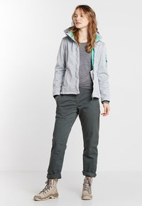 Jack Wolfskin - ARCTIC ROAD PANTS  - Outdoor trousers - greenish grey - 1