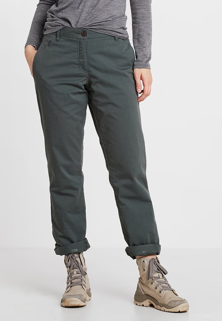 Jack Wolfskin - ARCTIC ROAD PANTS  - Outdoor trousers - greenish grey