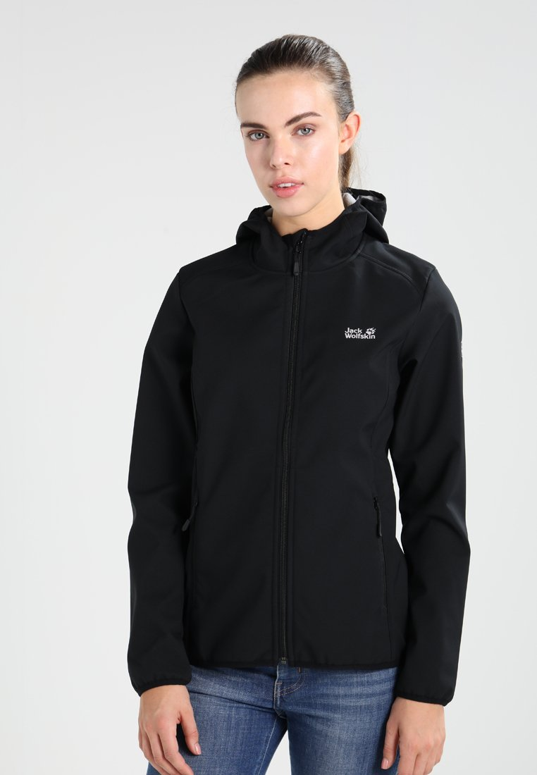 Jack Wolfskin - NORTHERN POINT - Soft shell jacket - black