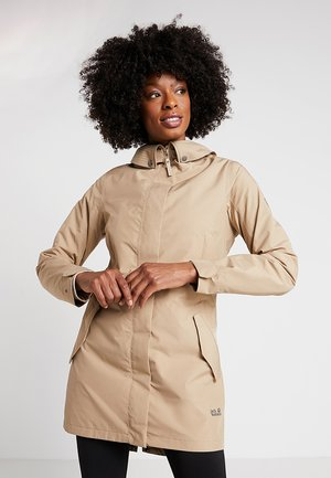 MONTEREY COAT WOMEN - Kurtka Outdoor - sand