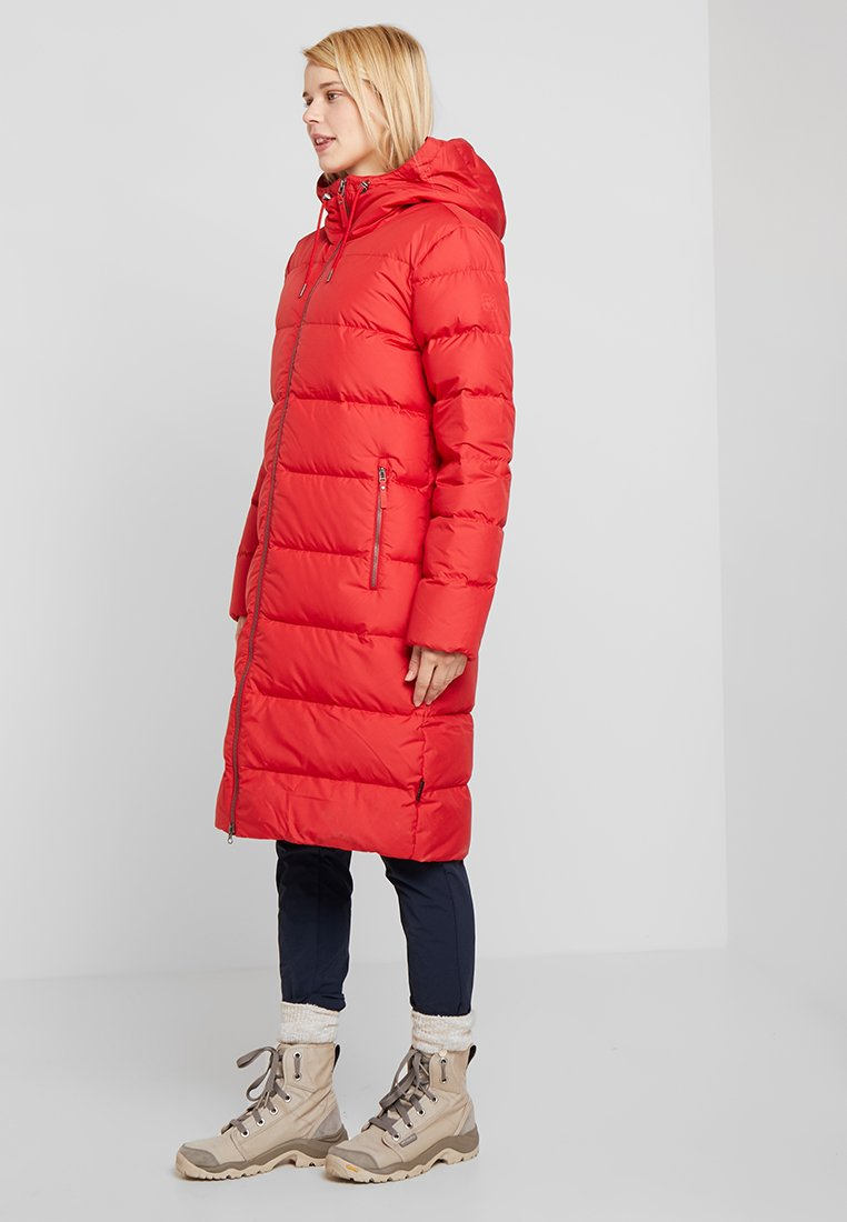 Jack Wolfskin - CRYSTAL PALACE COAT - Down coat - ruby red