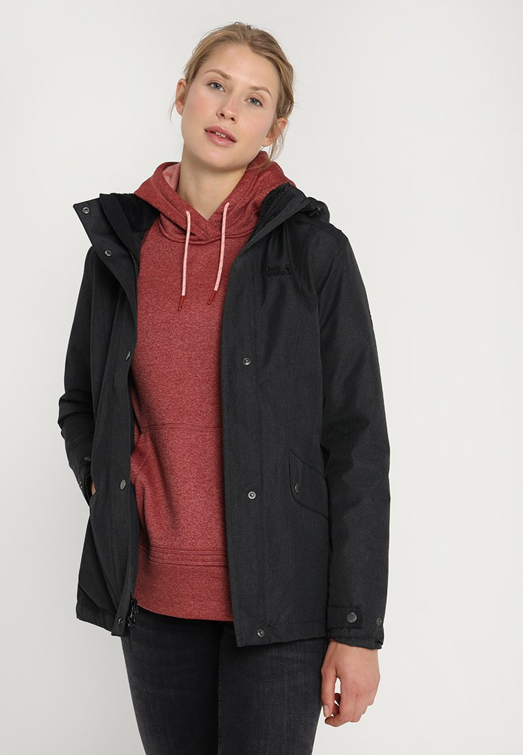 Jack Wolfskin - PARK AVENUE - Winter jacket - black