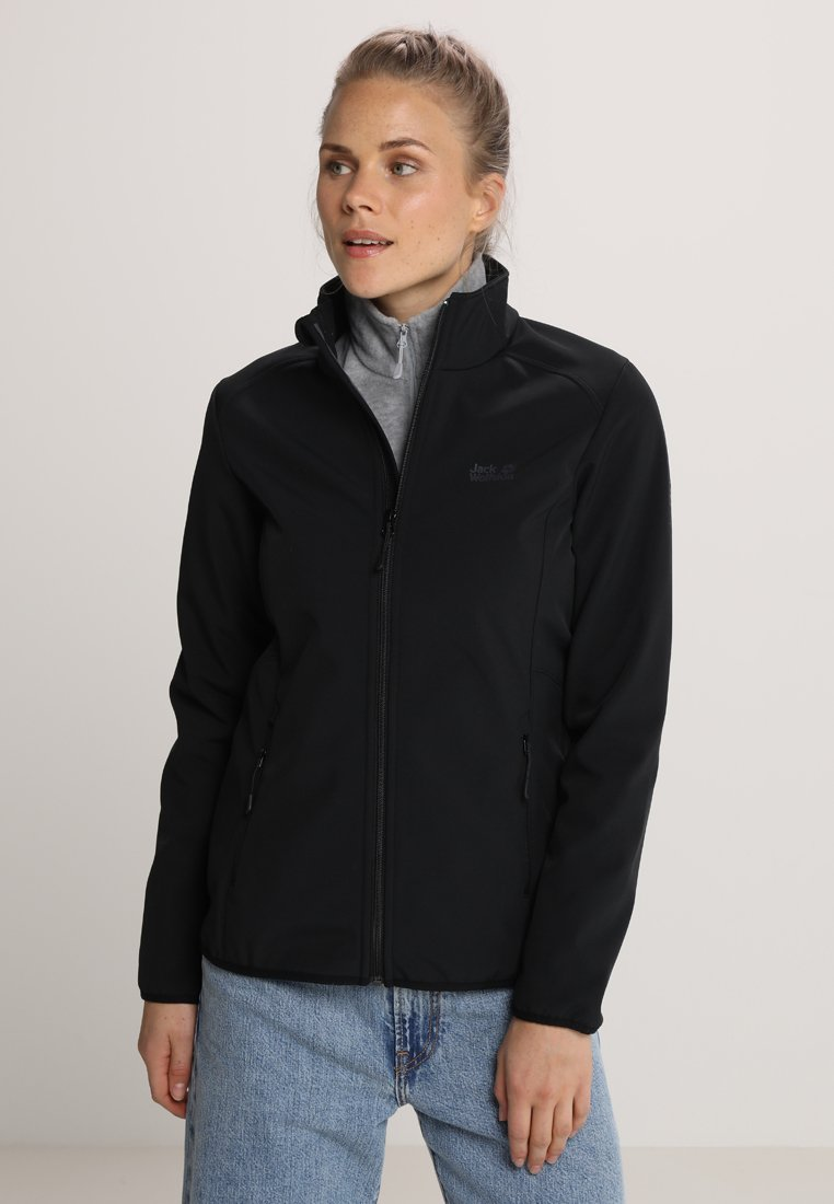 Jack Wolfskin - NORTHERN PASS WOMEN - Softshelljacke - black