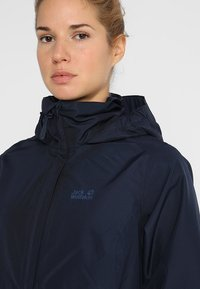 Jack Wolfskin - STORMY POINT JACKET  - Outdoorjakke - midnight blue - 6